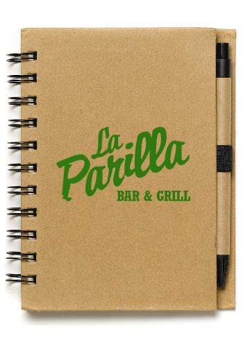 These custom printed notebooks are great promotional products to give away on tradeshows and events! Get them from Discount Mugs at the lowest prices!