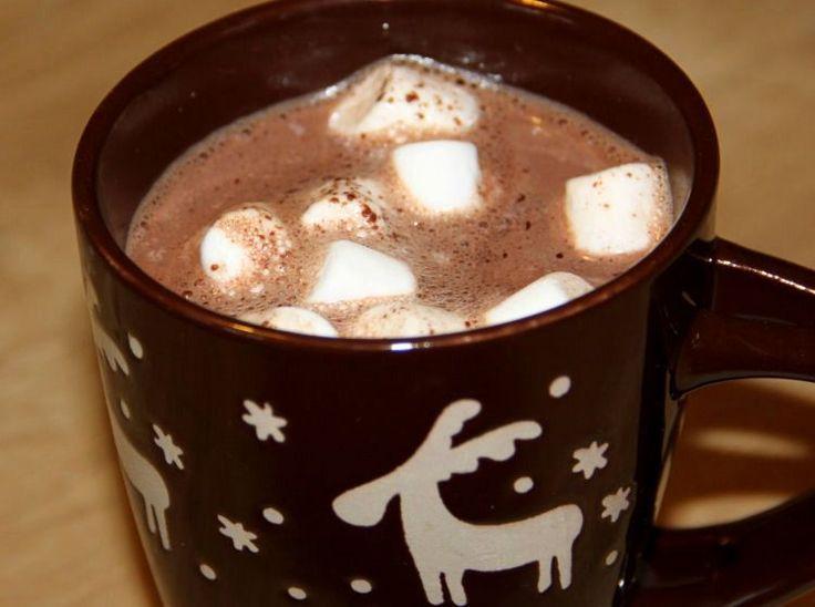 Schneemannsuppe - Trinkschokolade Rezept und Etikett