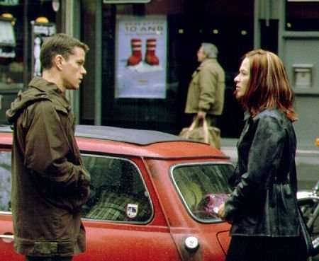 The Bourne Identity (2002) with Matt Damon and Franka Potente. The first of the Bourne movies that got some of us hooked on them. A man is picked up by a fishing boat, bullet-riddled and without memory, then races to elude assassins and recover from amnesia. Exceptional acting and script, with lots of action and a great story.