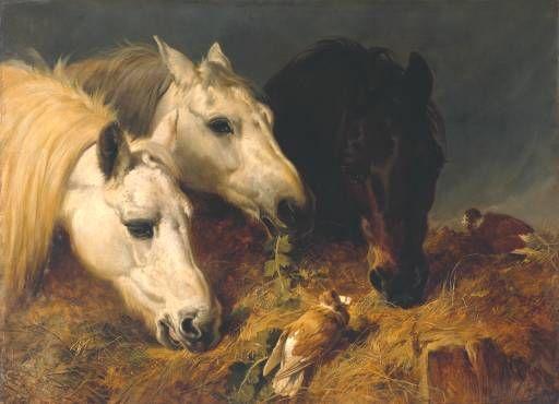 Le repas frugal de John Frederick Herring Senior (1795-1865, United Kingdom)