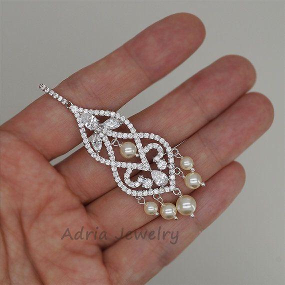 Lámpara pendientes cristal novia pendientes araña de cristal