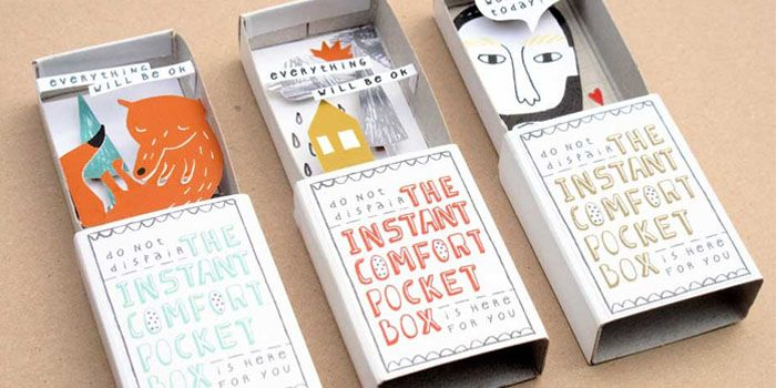 such a cute 'pocket box' idea.Comforters Pocket, Ideas, Pocket Boxes, Instant Comforters, Art, Matching Boxes, Matchbox, Crafts, Kim Well