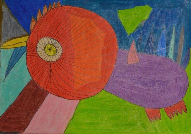 Paweł Zielonka|Kolorowa kura