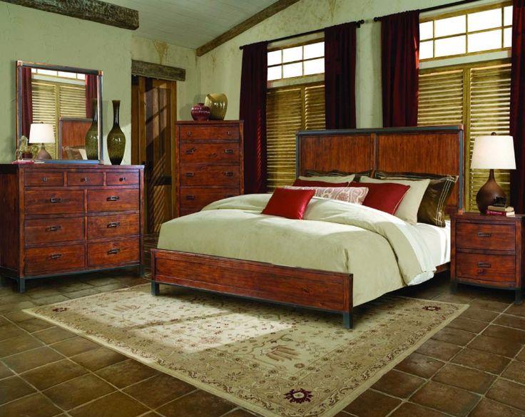 western bedroom furniture westernfurniture httpwwwsantaferanchcom - Rustic Western Bedroom Furniture