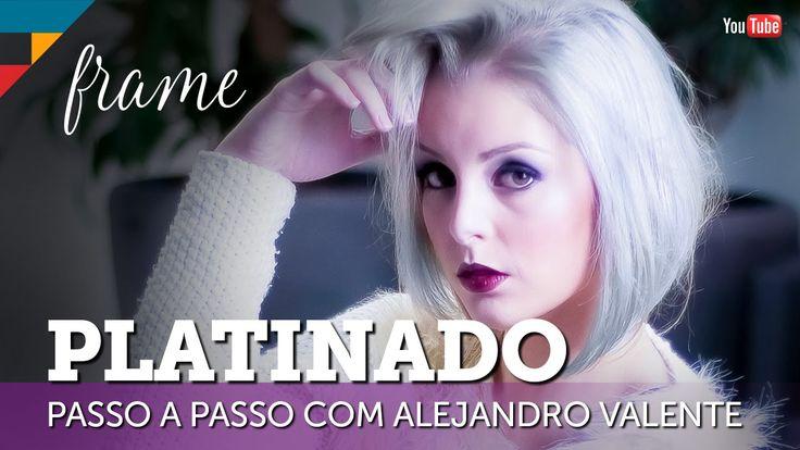 Como fazer um cabelo platinado ou granny – Colorimetria by Alejandro Val...