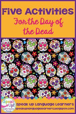 El día de los muertos ~ 5 Day of the Dead Classroom Activities