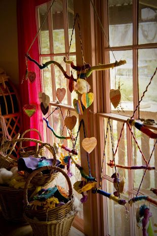 I recently found these gorgeous photos of Mount barker Waldorf Schools Kindergarten,isn'tit just beautiful!    It looks so homey I could...