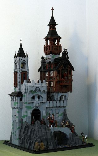 "My entry for Swebrick's competion ""Scary Castles and fortresses"".    Thanks to de Gothia and Derfel Cadarn for inspiration. You can find more pictures at my..."