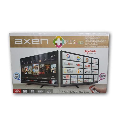 AXEN PLUS LED TV+1 YILLIK DIGITURK - 592.37 TL + KDV