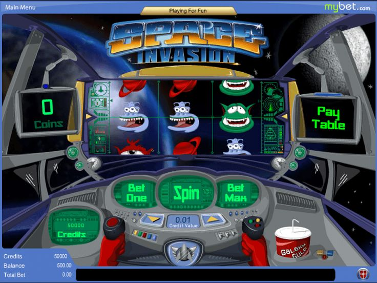 Space Invasion online slot is all about deep space exploration and different kind of aliens. The backdrop is set within a spaceship and the player is the one controlling its fate. Even the main symbols of the game include different kind of alien monsters and new planets. http://free-slots-no-download.com/aristocrat/9875-space-invasion/