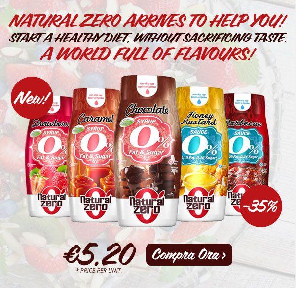 3 h ·  ➡ NUOVO MARCHIO ⬅ NaturalZero approda su Muscle Nutrition con tutta la linea di dolci #sciroppi e gustose #salse, tutti a calorie 0. Niente più rinunce ✌ Info Prodotti: https://goo.gl/jKFJKn