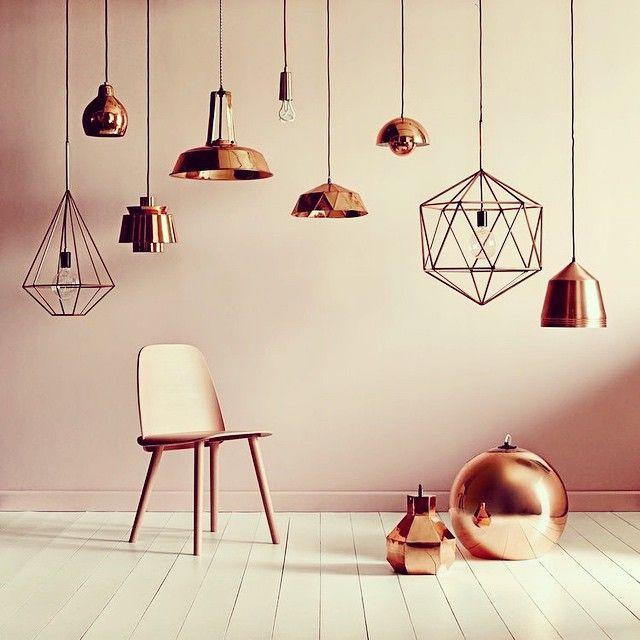 Cuprum* Um dos metais mais antigos do mundo e provavelmente um dos mais bonitos também! Inspirações de domingo..Novos projetos coming  #lighting#copper
