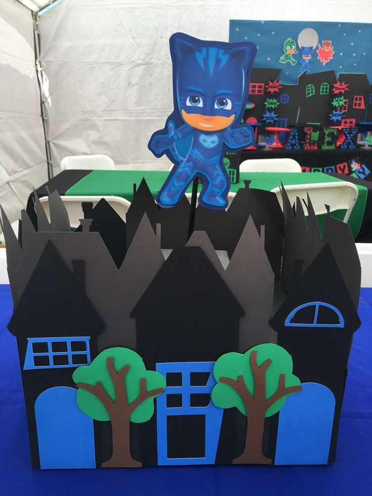PJ Masks Party | CatchMyParty.com