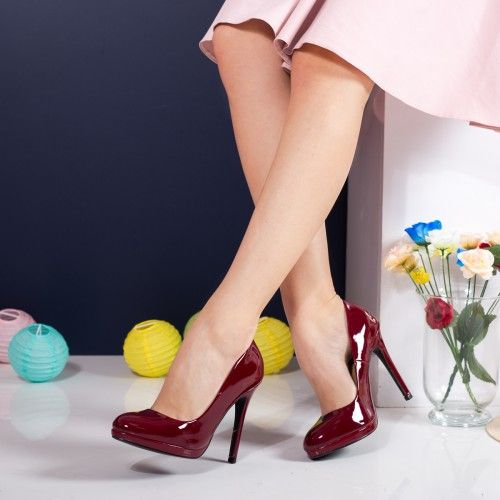 Pantofi dama Stiletto Busson visinii cu toc
