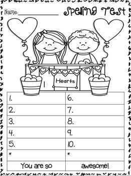 Number Names Worksheets kindergarten spelling test : 1000+ ideas about Spelling Test on Pinterest | Spelling words ...