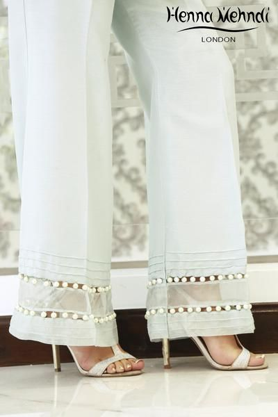 Mint Embellished Trousers | Outclass outfit | Fashion ...
