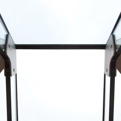 1/8 Example of a Glass Beam Supported Glass Rooflight.