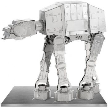at-at metal model kit 3d 10 cm star wars #starWars #MetalEarth #ModelKit  #fascinations #ATAT