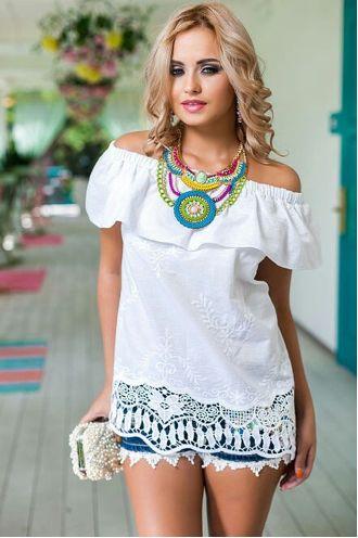Выкройка блузы с открытыми плечами | Выкройки онлайн и уроки моделирования