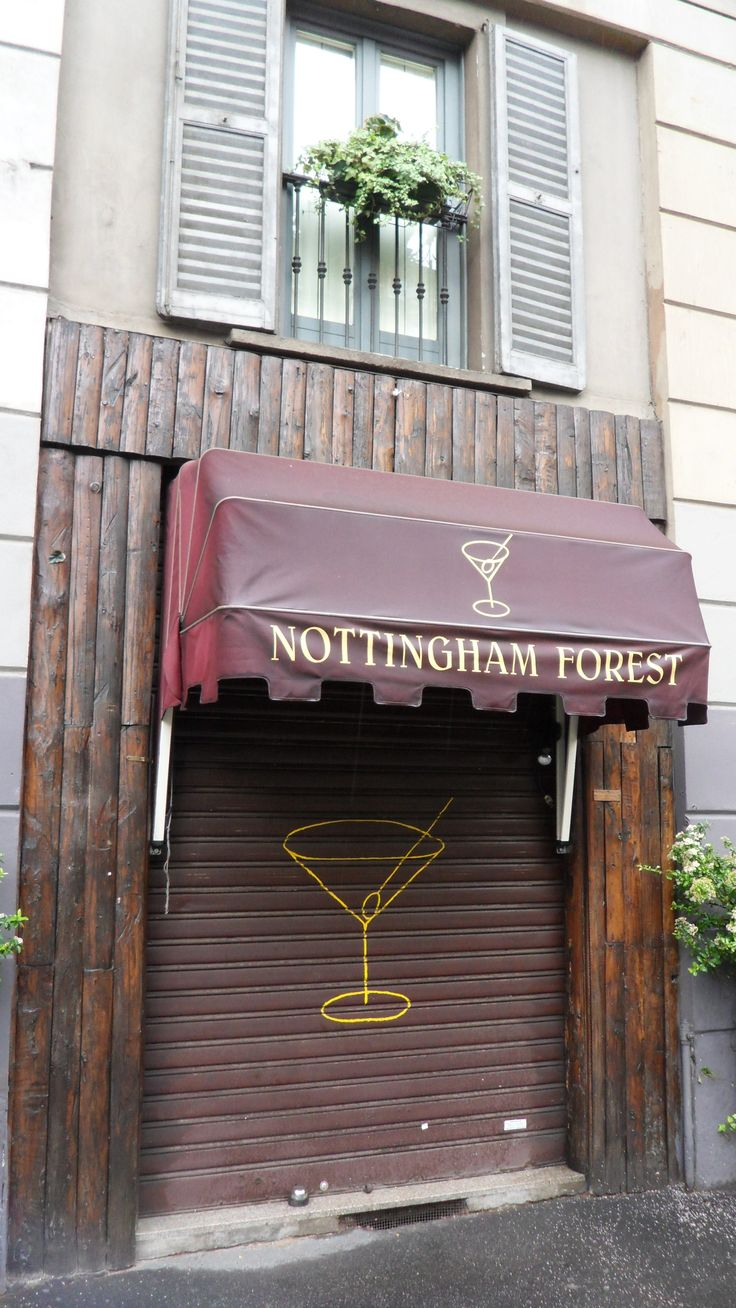 Nottingham Forest Cocktail Bar - viale Piave