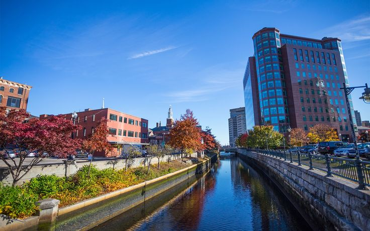 Providence: Come fall, the Rhode Island capital turns on the perfect mix of pastoral and urbane charms: while blazing foliage lights up the daytime, WaterFire—the bonfires that line the city's rivers—illuminates the evenings through October.