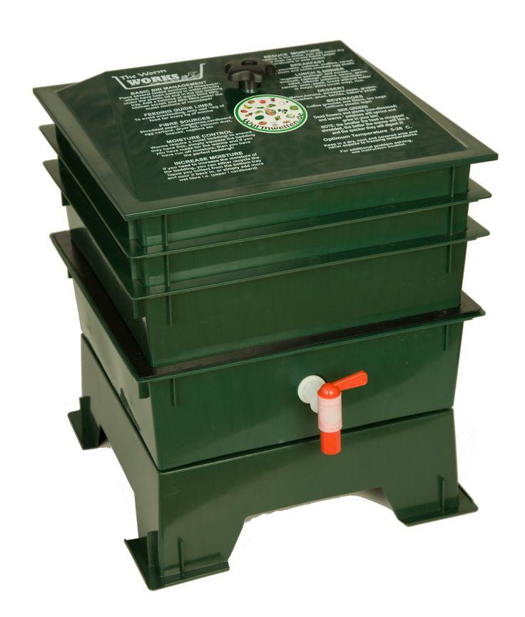 Worm Works Wurmkiste #Kompost #komposthaufen