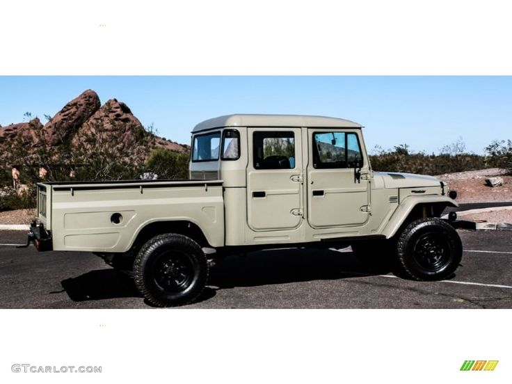 FJ45 | 1963 Beige Toyota Land Cruiser FJ45 Pickup TLC RestoMod #74039376 ...