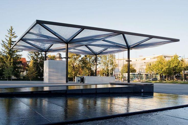 Community center, Unterföhring – pneumatic ETFE roof - - Temme Obermeier | Experts for Membrane Building