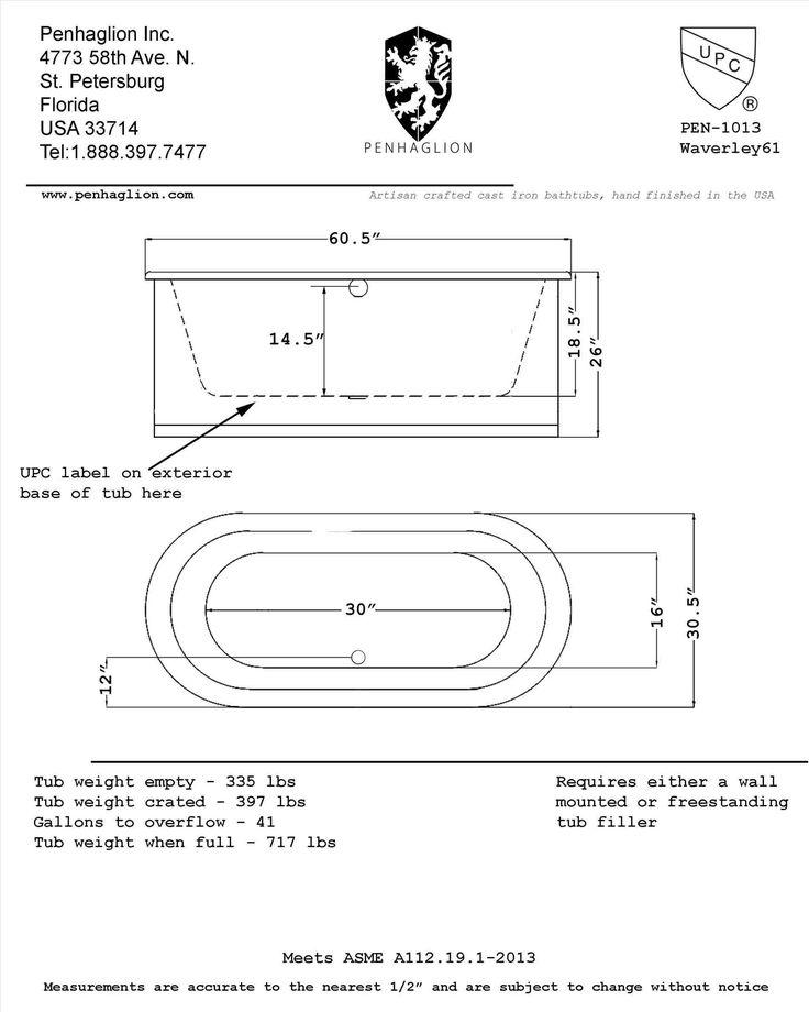 This bathtub rough in dimensions   enter image description here  entermp3  info page 31 bathroom bathtubs  charming standard bathtub size uk 77  contemporary  Best 25  Standard tub size ideas on Pinterest   Tub sizes  Walk in  . Bath Tub Standard Size. Home Design Ideas