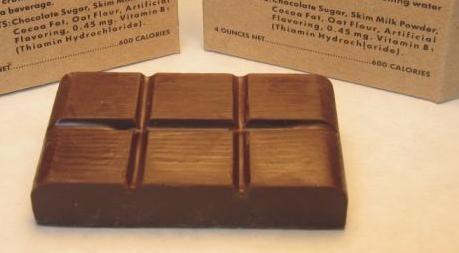 Soldiers Chocolate Bars German World War Two