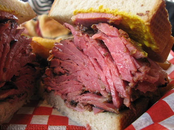 Montreal Smoked Meat Sandwich. I'm sold. Gotta find out what this piece of heaven is all about.