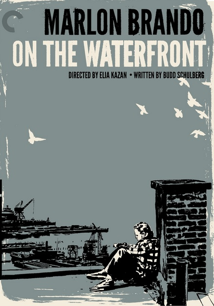 On the Waterfront with Marlon Brando. Directed by Elia Kazan.