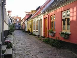 Gamle gader i Aalborg centrum