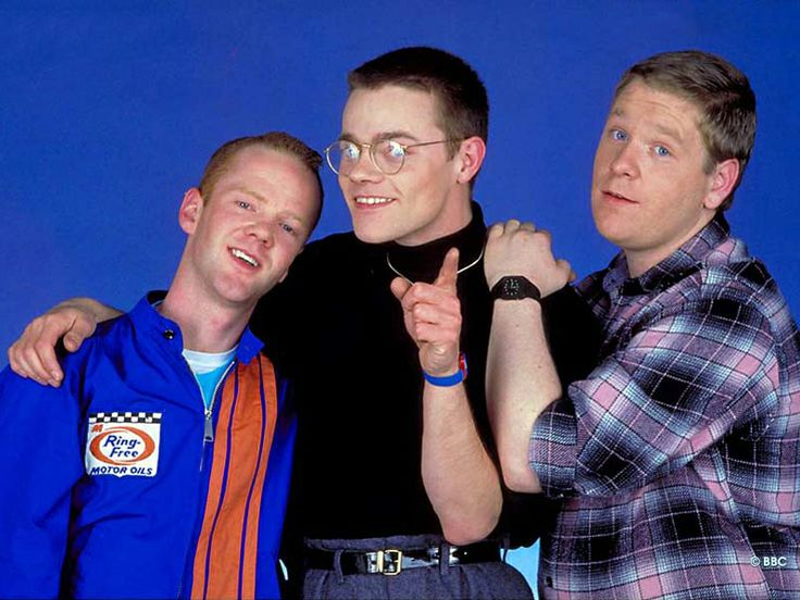 Jimmy Sommerville, Steve Bronski and Larry Steinbachek of Bronski Beat