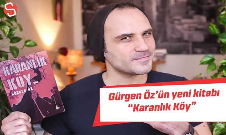 Ünlü oyuncu Gürgen Öz'ün Karanlık Köy kitabı film olacak! #gürgenöz #karanlıkköy #kitap