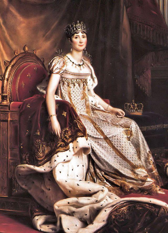 Josephine de Beauharnais, Keizerin der Fransen