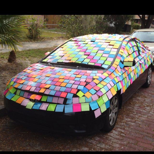Great Practical Joke Funny Car PranksFun PranksPrank IdeasWedding
