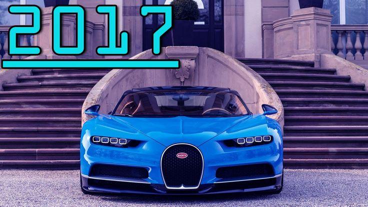 ►2017 Bugatti Chiron 8L W16 Ultra Modern Super Sports Car First Drive Re...