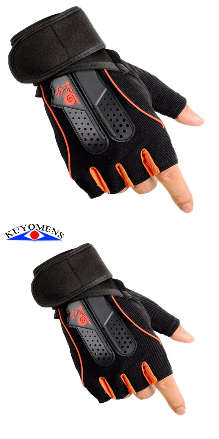 Fitness Military Gloves Academia Men Anti Skid Gym Patchwork Adjust Protective Glove Unisex Breathable Half Finger Training