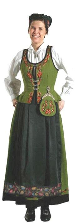 Marie Aaen, Alvdal (sort/grønn)