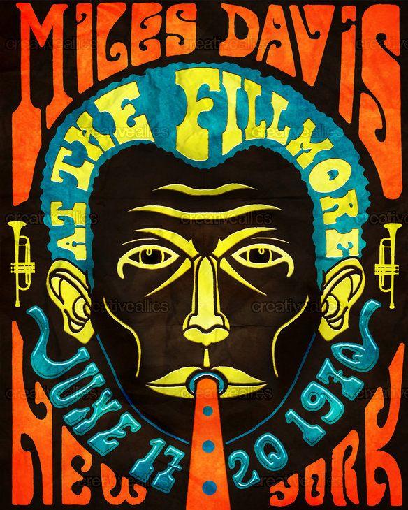 Miles Davis Poster design contest on Creative Allies