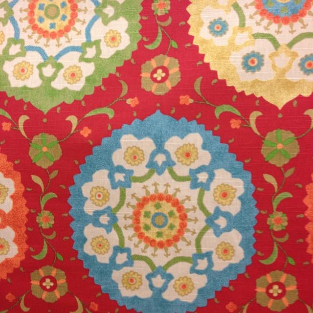 Possible ottoman fabric
