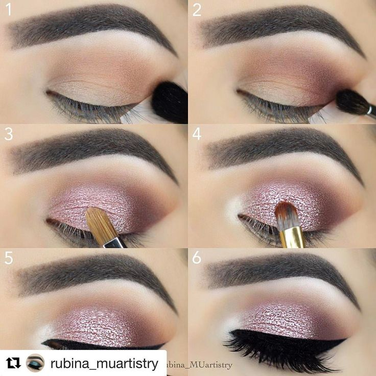 "#Repost @rubina_muartistry ・・・ #stepbystep @tartecosmetics #shapetape contour concealer in the shade ""light neutral"" @toofaced Natural Love Eyeshadow Palette @thebalm_cosmetics Eyeshadow Stick in Moon Shot as a base @eyekandycosmetics ""Be Mine"" glitter on the lid @nyxcosmetics Gel Liner & Smudger @lillylashes LAYLA lashes by @lillyghalichi @anastasiabeverlyhills Dipbrow Pomade in Dark Brown @morphebrushes & @sigmabeauty brushes : pinterest: ☞ katepisors"