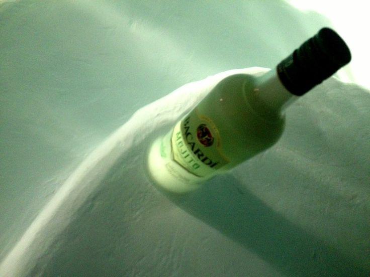 Bacardi Mojito in the pool! @ Tzia