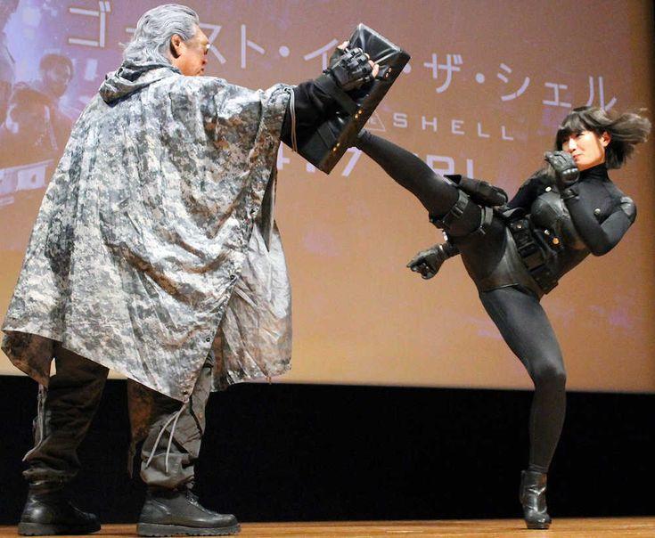 長州力 特殊メークにはキレず武田梨奈の右ハイは「すごくキレていた」  スポニチアネックス #スポニチ #武田梨奈