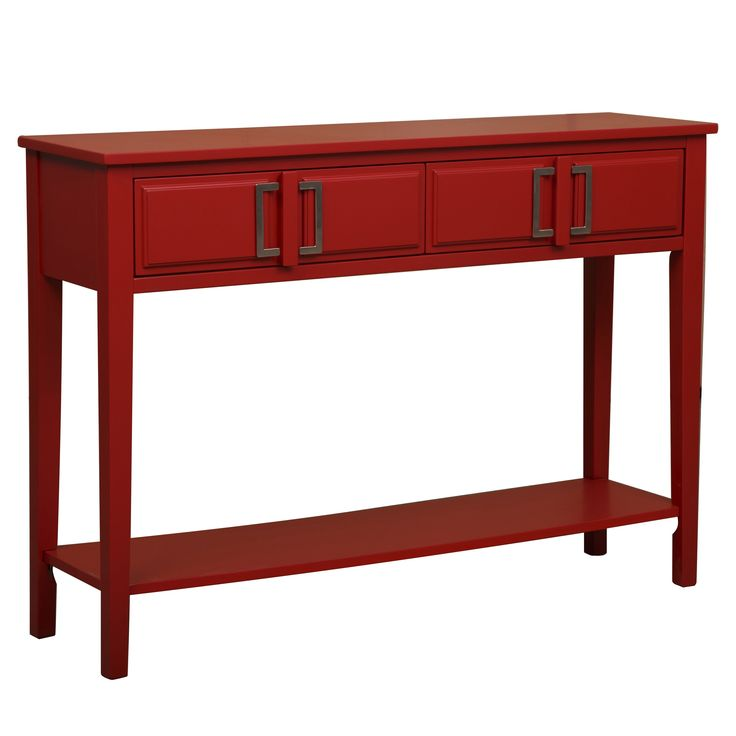 Best 25 Red console table ideas on Pinterest Console furniture