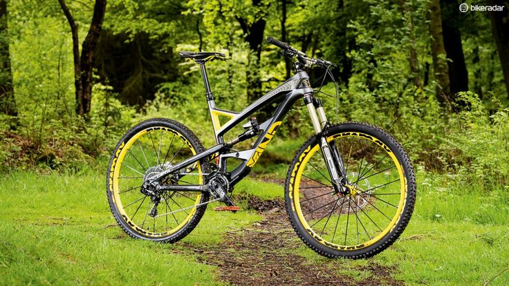 YT Industries  Capra CF Pro Race advertises its aggressive credentials from the paint job onwards
