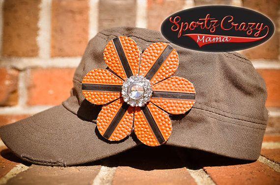 Basketball Mom Bling Hat by SportzCrazyMama on Etsy, $25.00