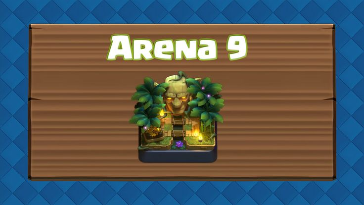 Clash Royale Arena 9 – Jungle Arena