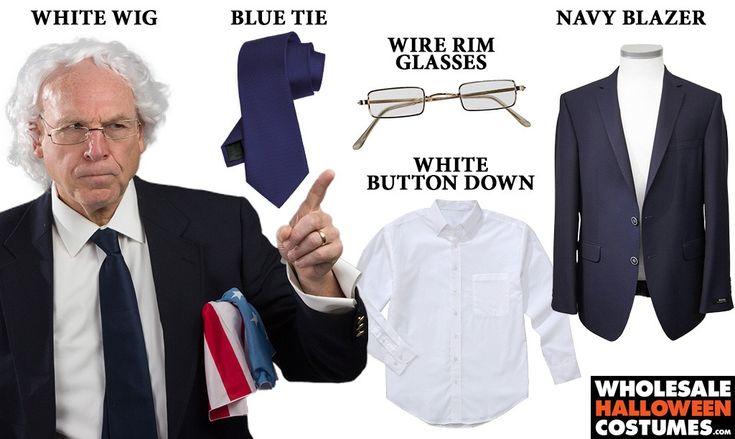 DIY Bernie Sanders Costume - The Underdog